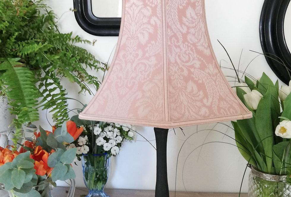 abat jour rose conique vintage