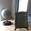 Thumbnail: Cadre photo Art nouveau en laiton doré vintage à décor de femme