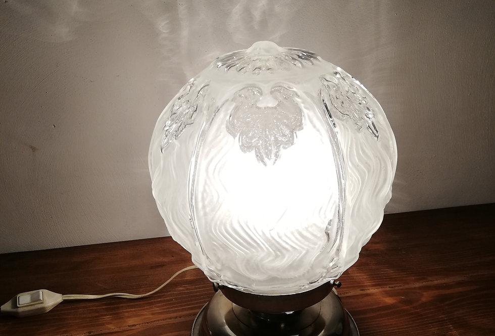 Lampe boule Art déco