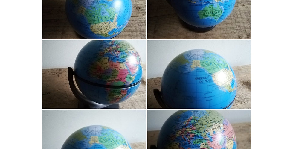 petit globe terrestre Michelin