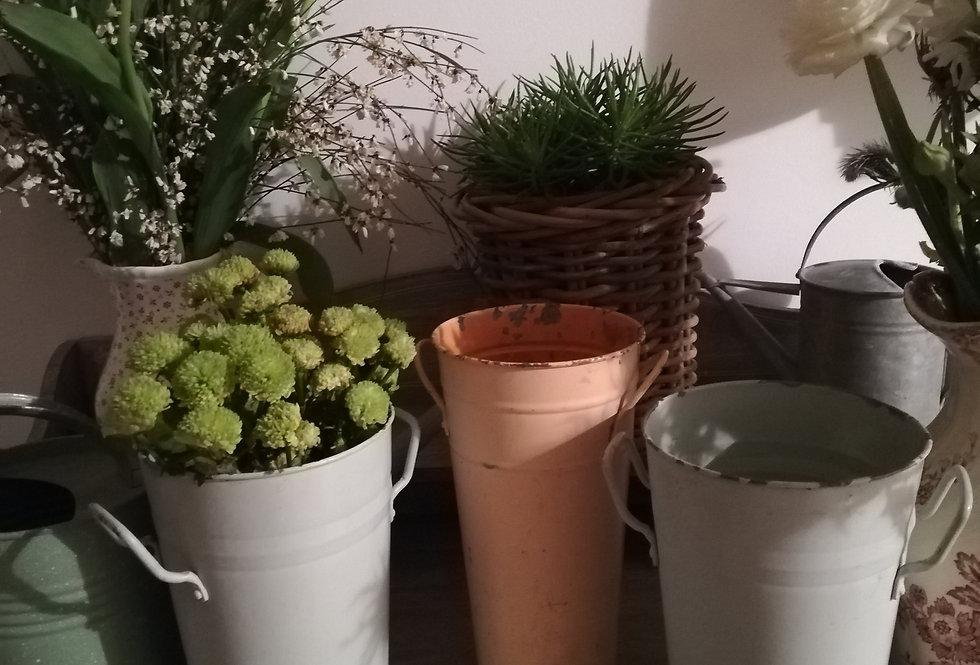 3 vases ancien de fleuriste