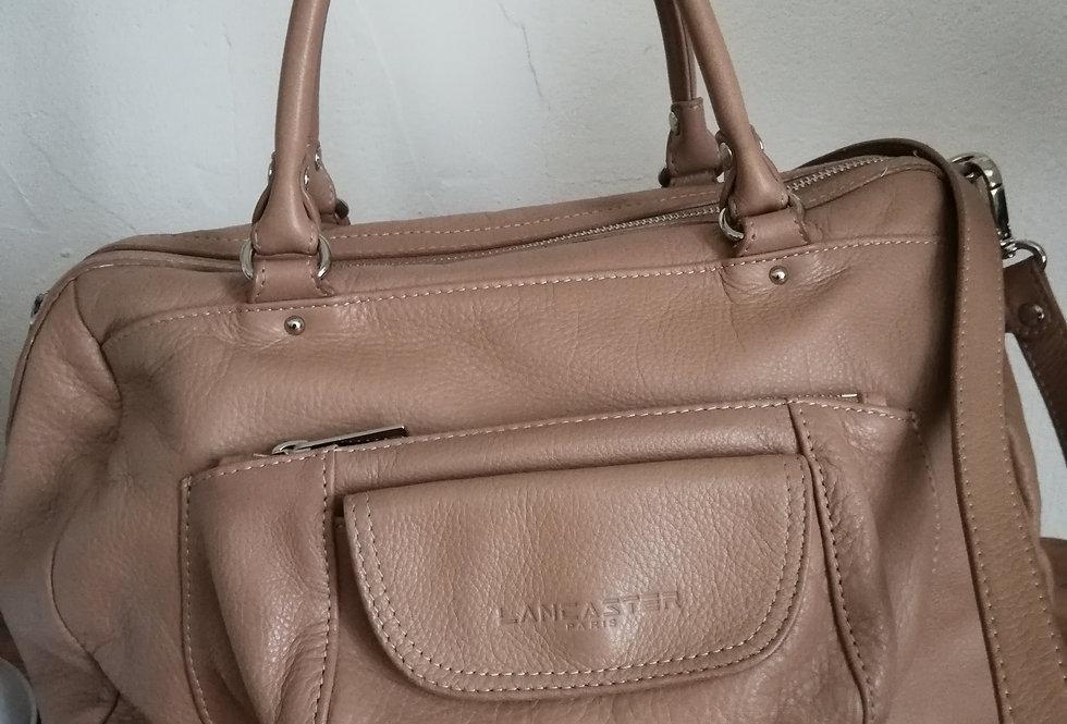 sac lancaster cuir vintage