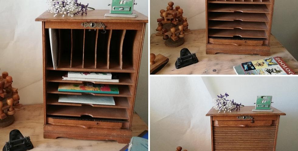 meuble de métier bois