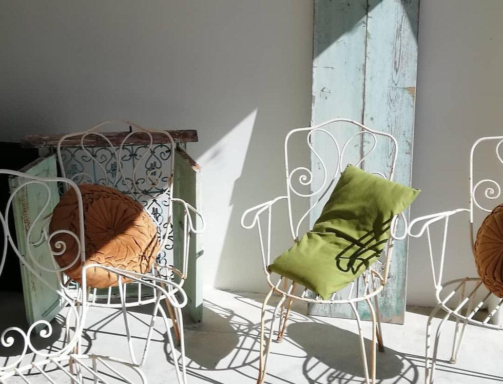 4 chaises/fauteuil d'extérieur *hors frais d'envoi