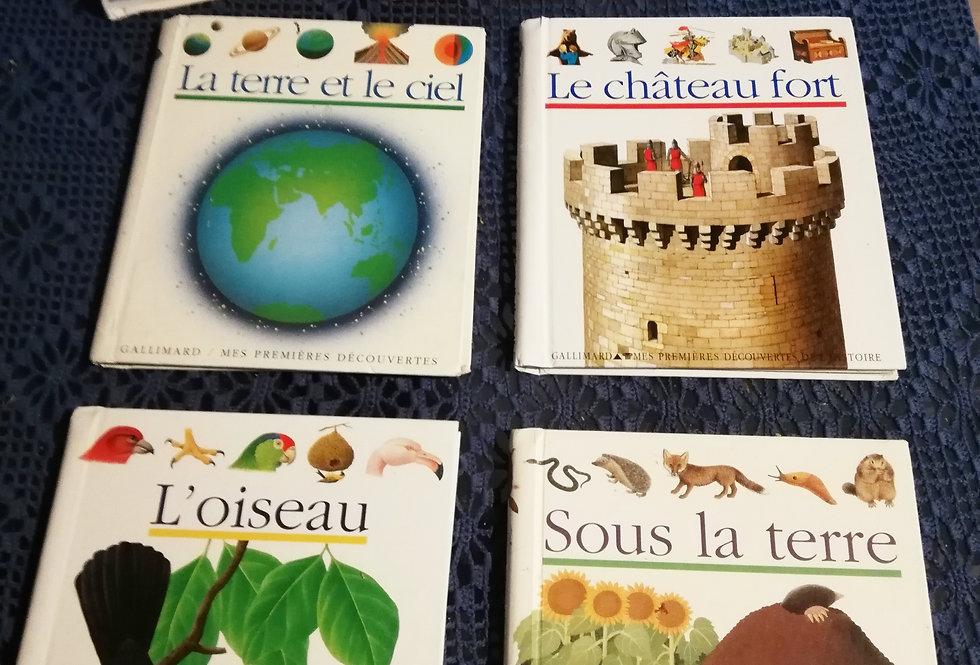 Lot de jolis petits livres Gallimard