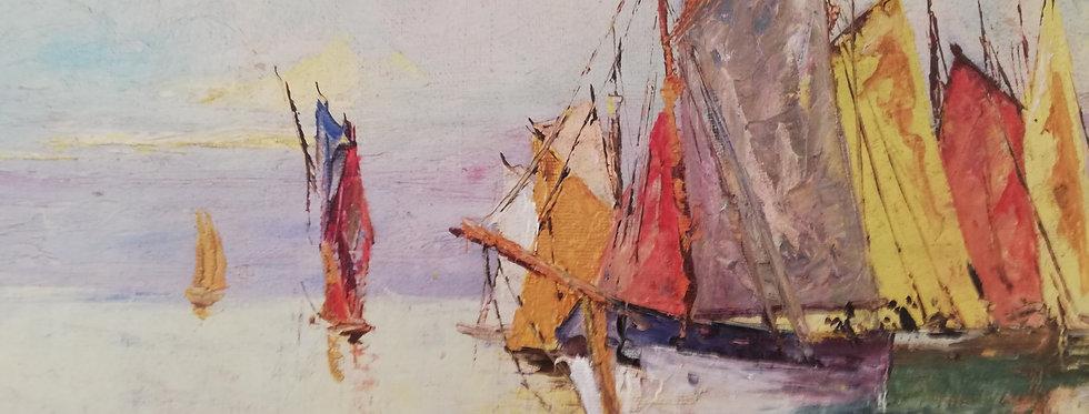 peinture d'une Marine par Benedetto