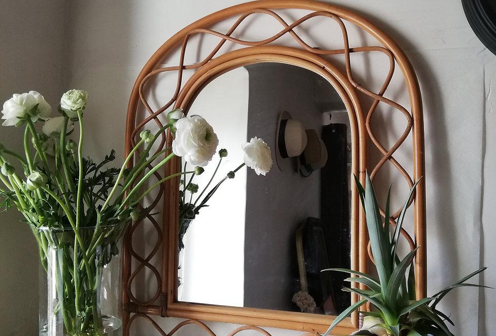 miroir vintage boho style