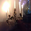 Thumbnail: Candelabre/chandelier à plusieurs branches XIXE...Candelabra / candelabra with s