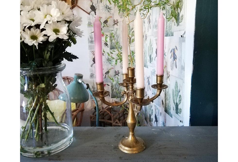 2 chandeliers vintage laiton