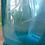 Thumbnail: 2 Siphons vintage/Bouteille en verre vintage couleur jaune acidulé et turquoise
