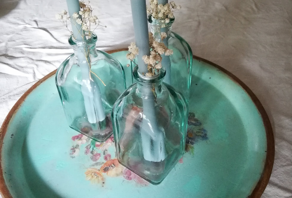 fioles pour table de fetes