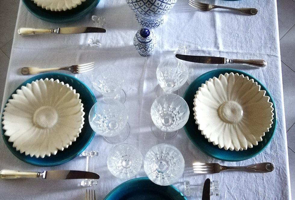 10 grandes assiettes A. Maunier
