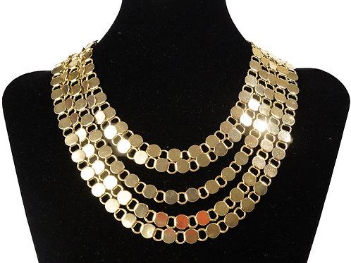 5 Row Gold Chain