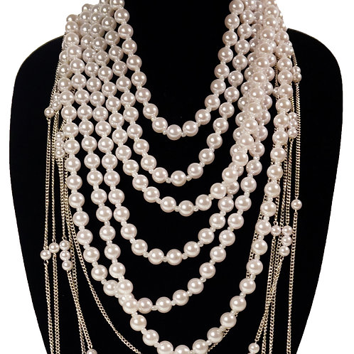 Pearls w/ Back Chain
