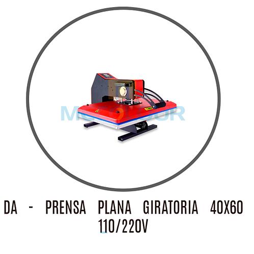 PRENSA PLANA GIRATÓRIA 40X60