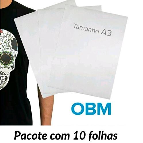 PACOTE OBM SOFT A3 COM 10 FOLHAS