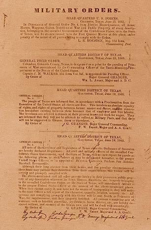 A photo of Military orders.  Order Number 3, is stated in the image.