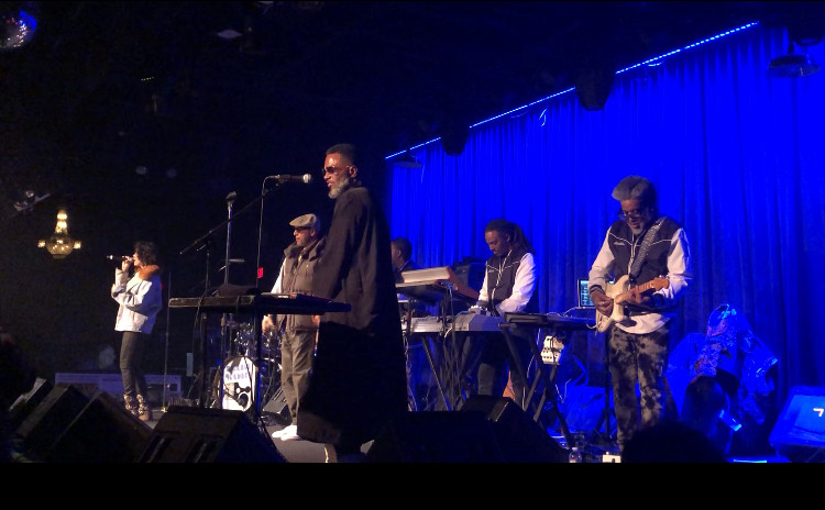 """The legendary group, Digable Planets, playing one of their hits, """"Nickel Bag of Funk."""""""