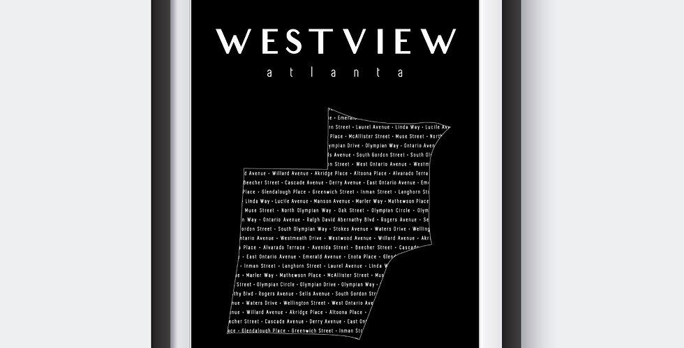Westview Neighborhood Map