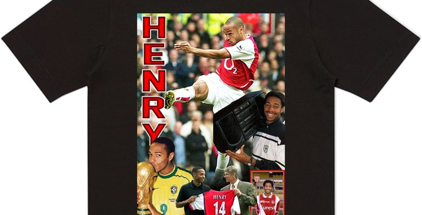 T-Shirt Thierry Henry