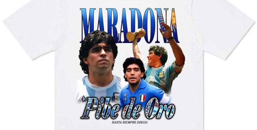 T-Shirt Diego Maradona