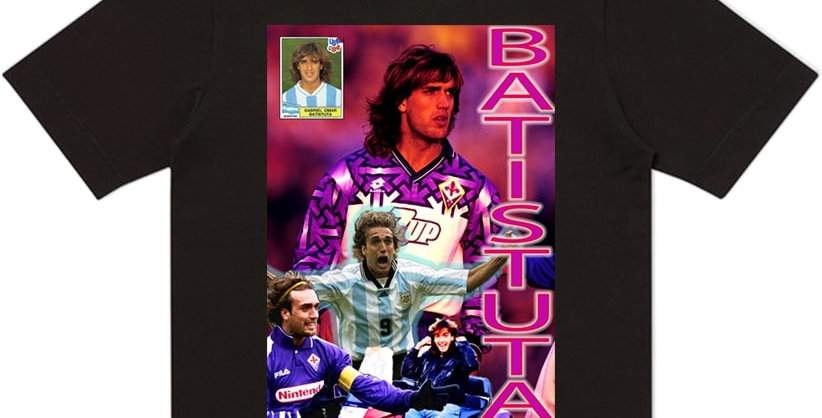 T-Shirt Batistuta