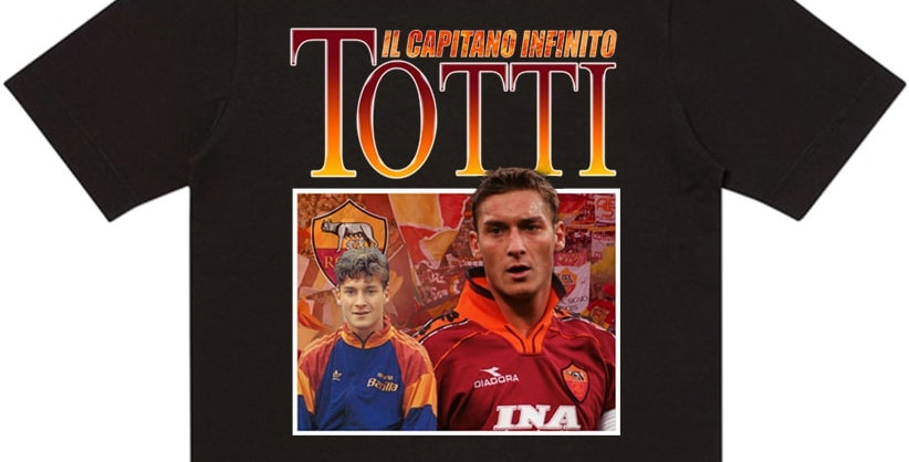 T-Shirt Francesco Totti