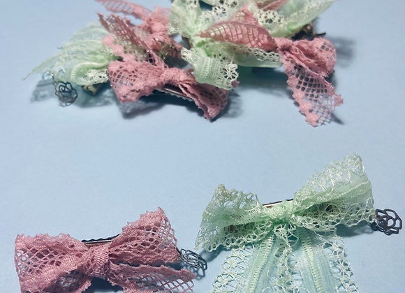 Mini Lace Bows