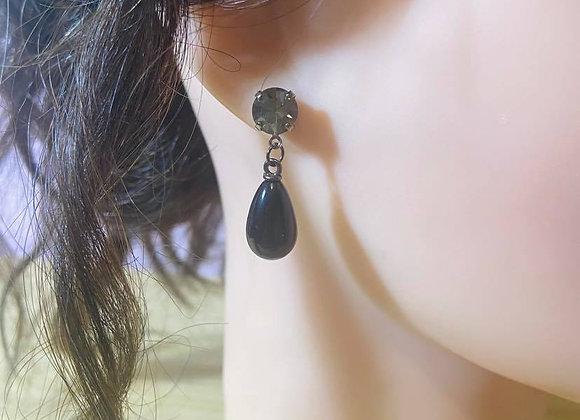 Pearl Drops Black Large