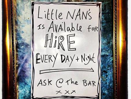 Little Nan's Bar, Deptford @Littlenansbar