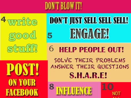 Online PR's Fun Infographic on Social Media
