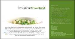 Riverfood Event Invitation