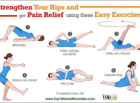 10 Easy Exercises to Strengthen Your Hips Relieve Pain