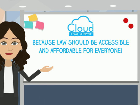 News Release: LEGAL SPECIALIST LAUNCHES NEW SERVICE @CloudLegals