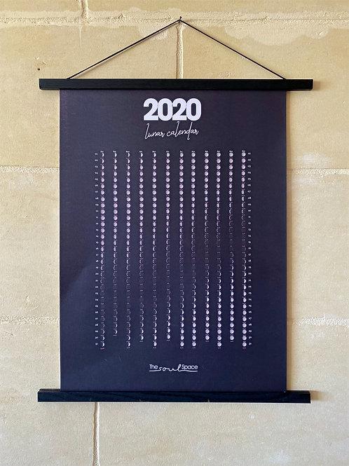 The 2020 Lunar Calendar