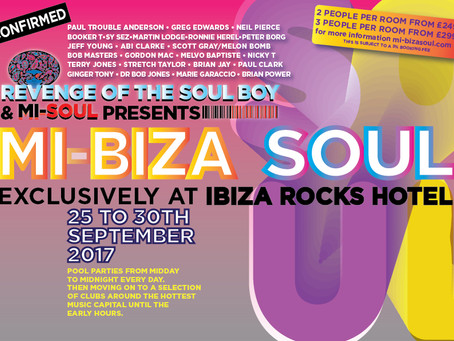 MiBiza Soul. The Biggest End Of Summer Party Ever!