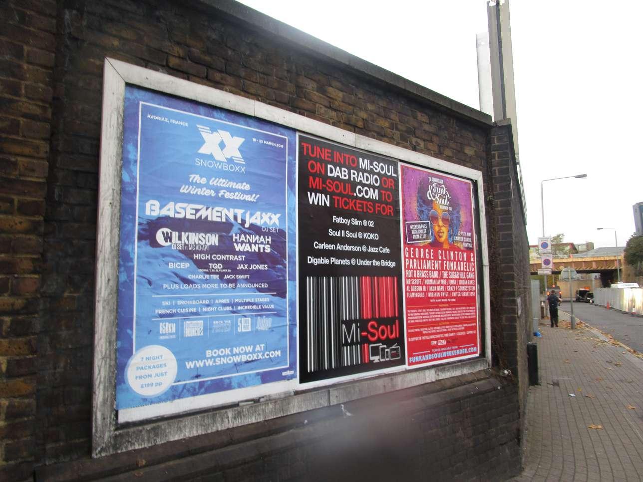 Mi-Soul Radio Poster Campaign