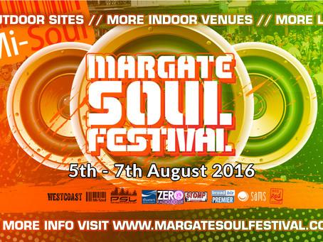 EVENTS RELEASE: Margate Soul Festival 2016 #MSFest2016