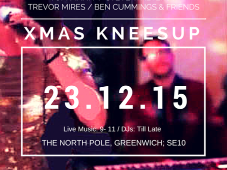 Events Release: Christmas Knees Up in #Greenwich