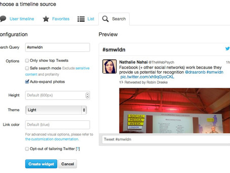 Twitter launches new Widget Search App