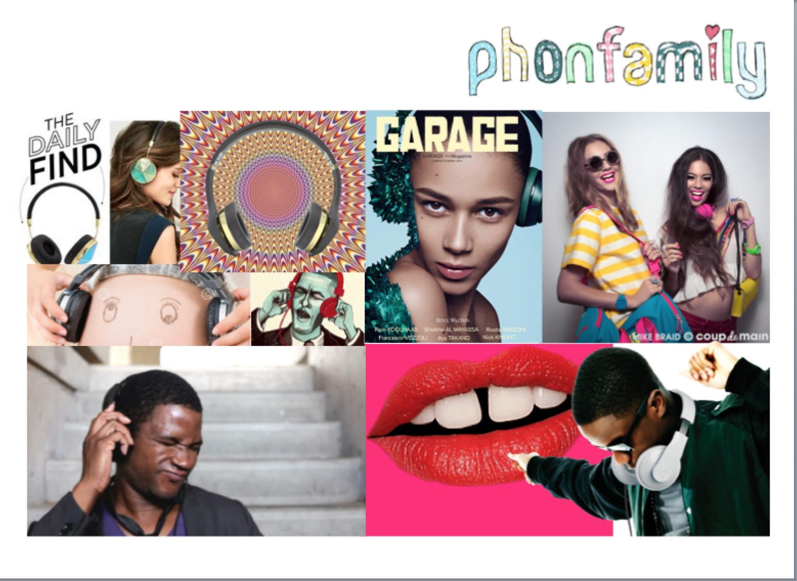 Phonfamily: workings