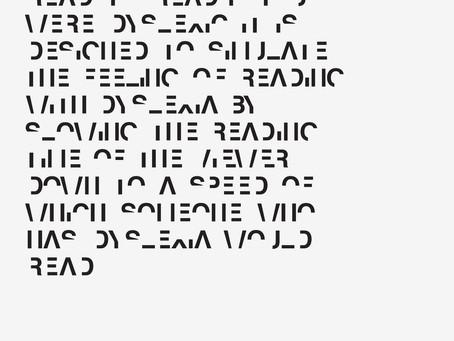 All Eyes On New Font 'Dyslexia' by Daniel Britton