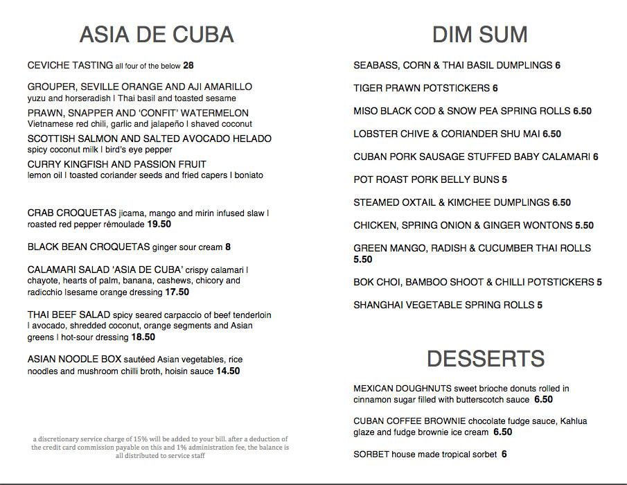 asian de cuba dim sum menu