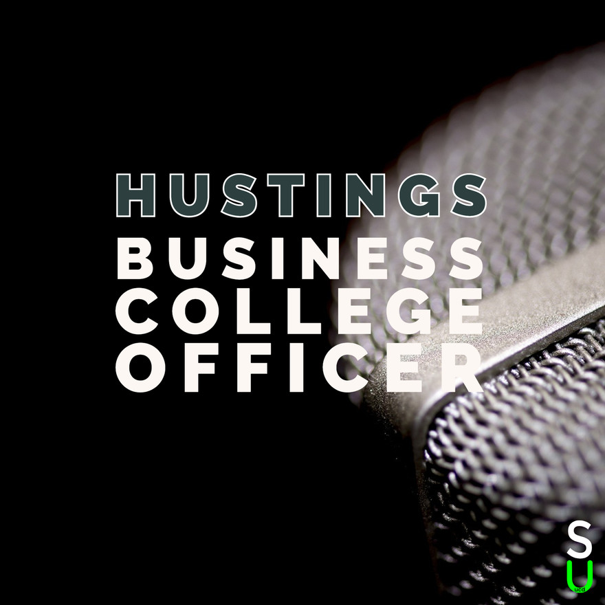 Business College Officer Hustings