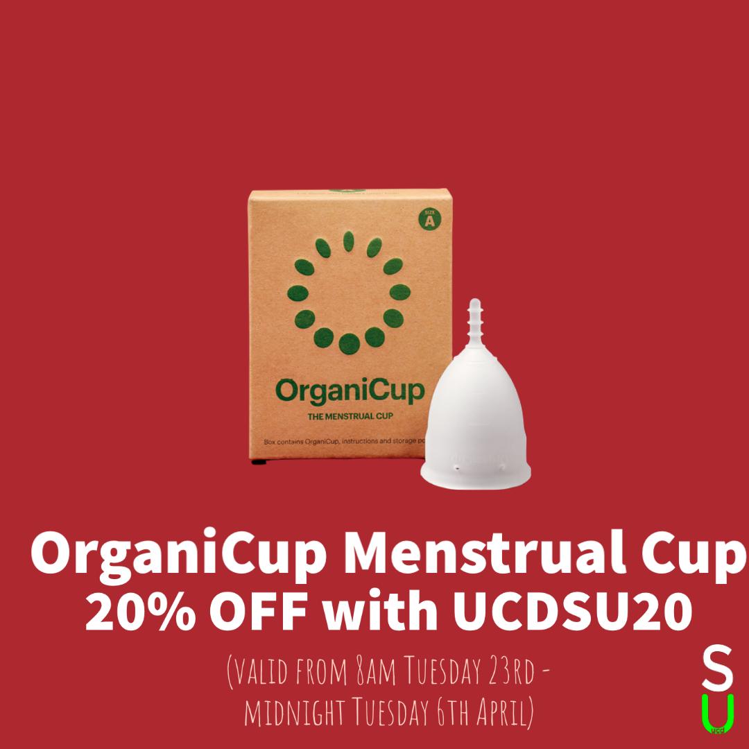 OrganiCup Menstrual Cup Discount