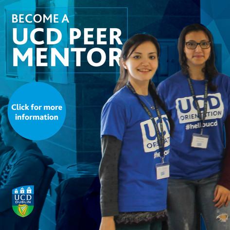 Become a UCD Peer Mentor