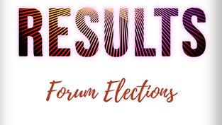 Forum Election Results