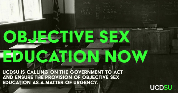 UCDSU call for objective sex education now