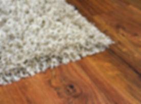 Parquet floor of the brown wooden planks