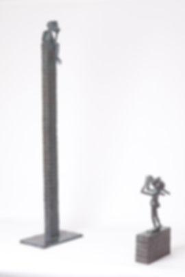 Kunst - Art - Bronzen beelden - Bronze sculpture - Figuratief - Anouk de Groot